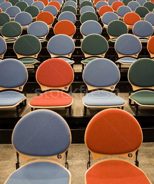 Spectators seats Stock photo © gemenacom