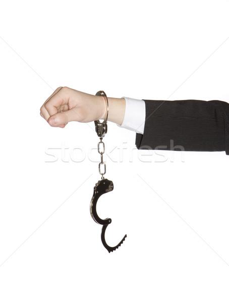 man in handcuffs Stock photo © gemenacom