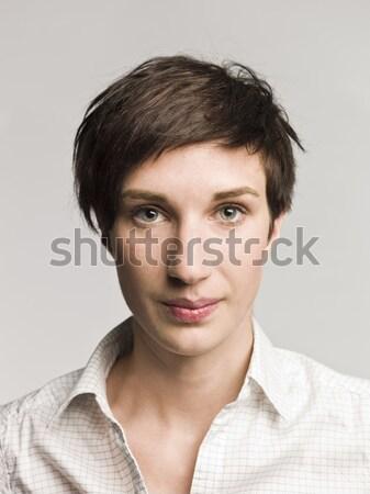 Portrait of a surprised woman Stock photo © gemenacom