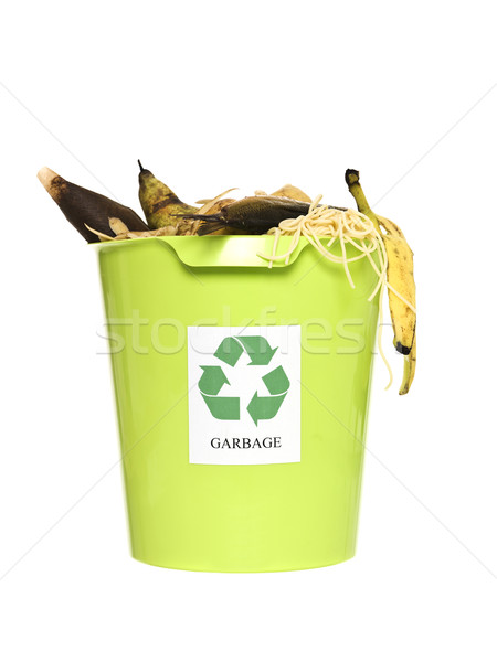Recycling bin with ort Stock photo © gemenacom