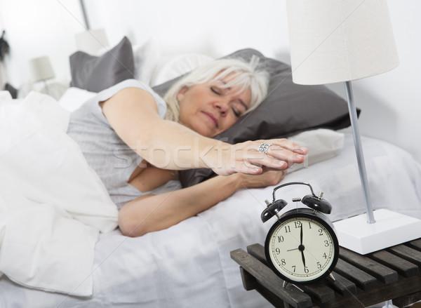 Wake up woman Stock photo © gemenacom