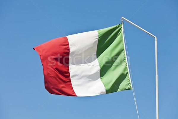 Italy flag Stock photo © gemenacom