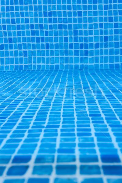 Doku alt yüzme havuzu su yaz dalga Stok fotoğraf © gemenacom