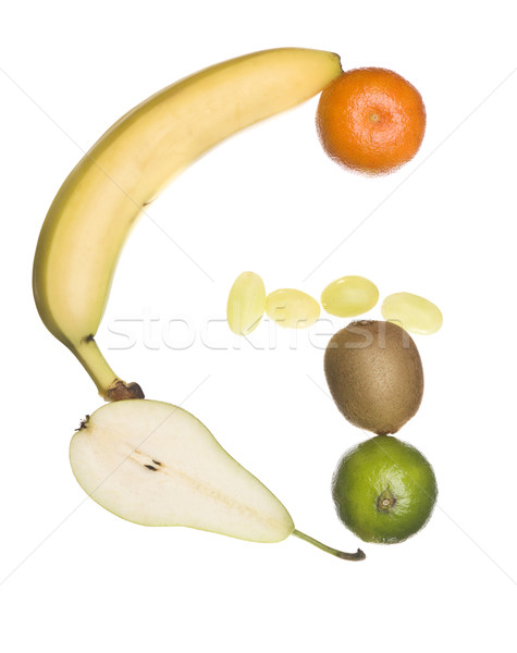 The letter 'G' made out of fruit Stock photo © gemenacom