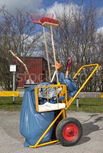 Garbage Truck Stock photo © gemenacom