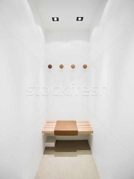 Vestidor interior moda compras marco tienda Foto stock © gemenacom