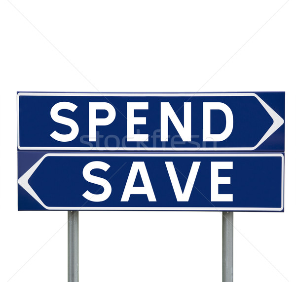 Spend or Save Stock photo © gemenacom