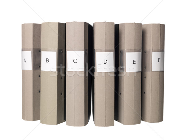 Six folders Stock photo © gemenacom