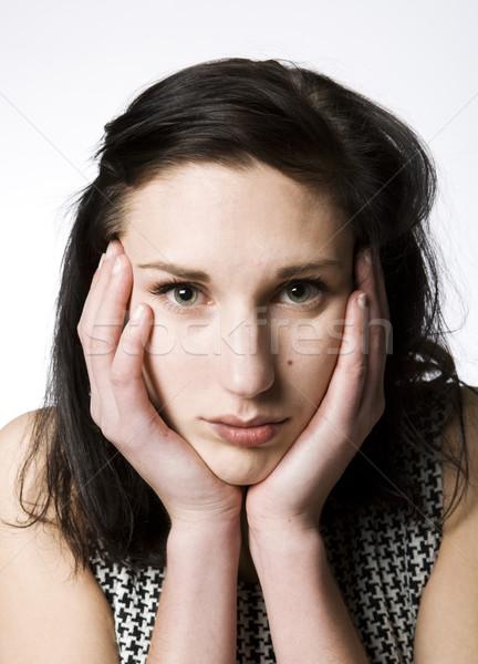 Bored woman Stock photo © gemenacom