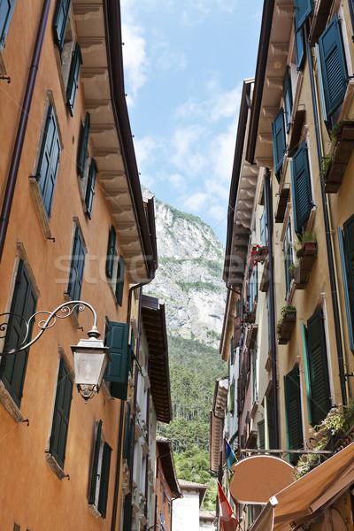 De volta beco Itália casa rua Foto stock © gemenacom