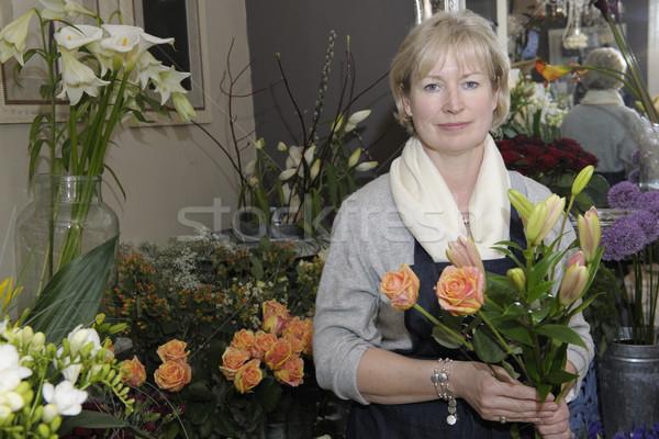 Florist Stock photo © gemphoto