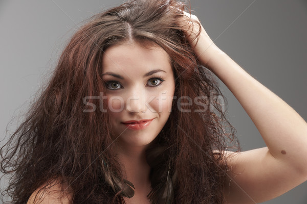 Messy hair Stock photo © gemphoto