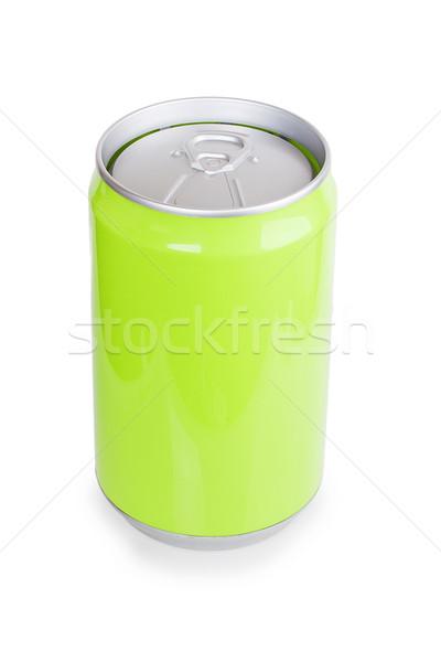 Verde metal aluminio beber pueden Foto stock © GeniusKp
