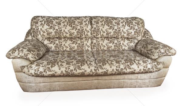 Gray sofa Stock photo © GeniusKp