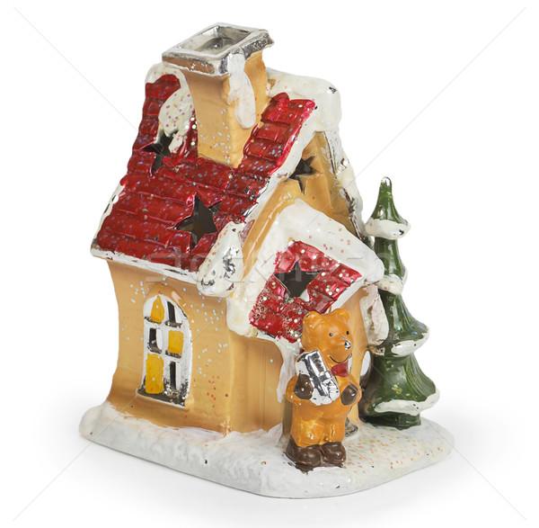 Decorative Christmas house Stock photo © GeniusKp