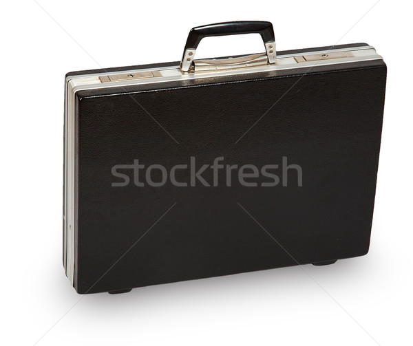 Negro caso aislado blanco viaje trabajador Foto stock © GeniusKp