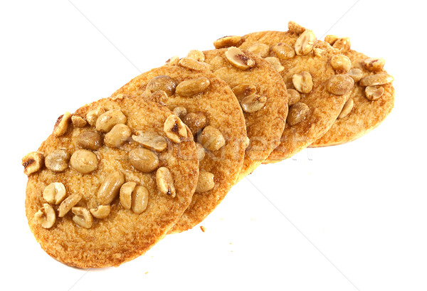 Cookies with peanuts Stock photo © GeniusKp