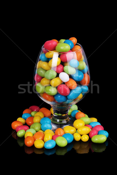 colorful candy in glass Stock photo © GeniusKp