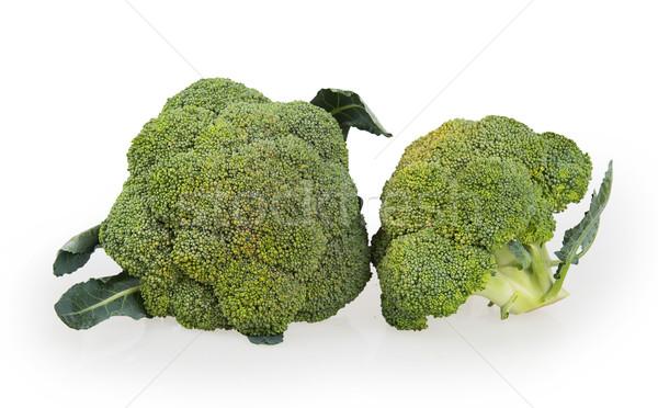 Brócolis vegetal isolado branco comida fundo Foto stock © GeniusKp