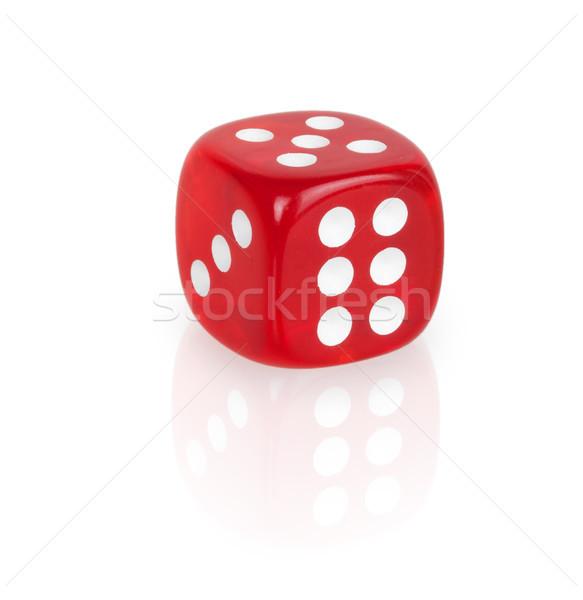 Red dice Stock photo © GeniusKp