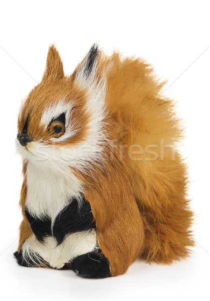 Furry squirrel toy Stock photo © GeniusKp