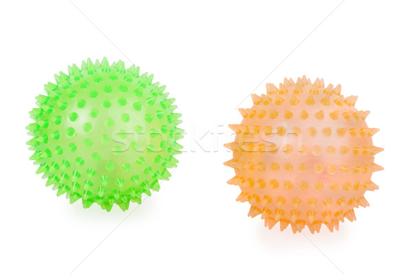 two rubber ball Stock photo © GeniusKp