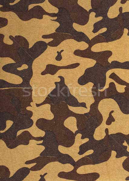 Askeri doku dizayn savaş boyama Stok fotoğraf © GeniusKp