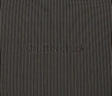 Zwarte grijs strips weefsel kan mode Stockfoto © GeniusKp