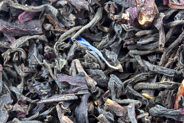Nero tè primo piano può usato foglia Foto d'archivio © GeniusKp