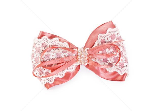 Hair pink clip for women Stock photo © GeniusKp