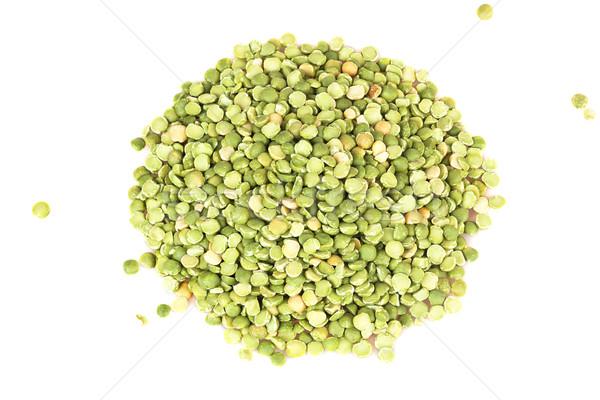 pile of dry green peas Stock photo © GeniusKp