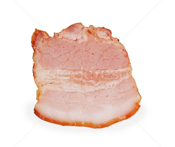 Piece of bacon Stock photo © GeniusKp