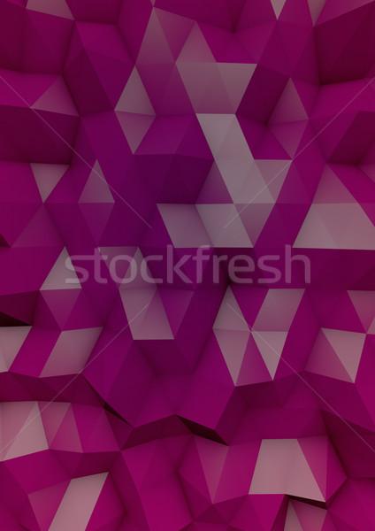 Rose papier résumé fond illustration Photo stock © georgejmclittle