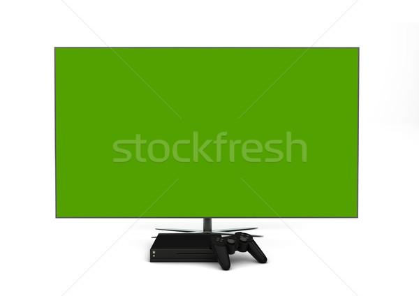 Gioco consolare computer intrattenimento Foto d'archivio © georgejmclittle