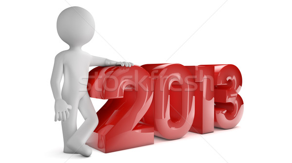 year 2013 Stock photo © georgejmclittle