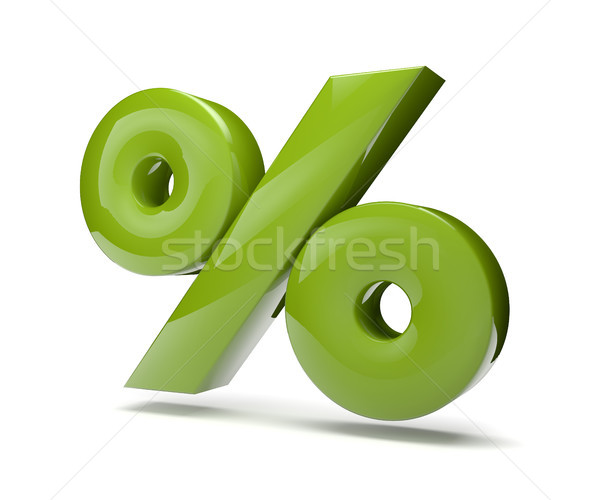 percent green Stock photo © georgejmclittle