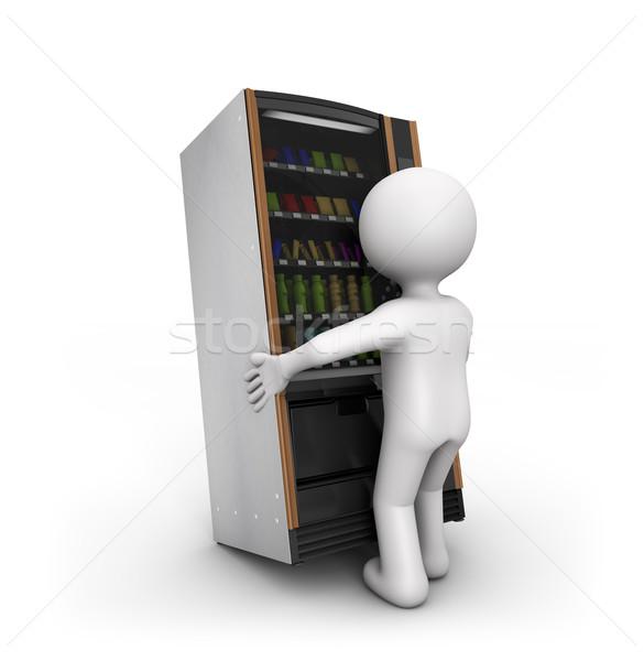 vending machine jam Stock photo © georgejmclittle