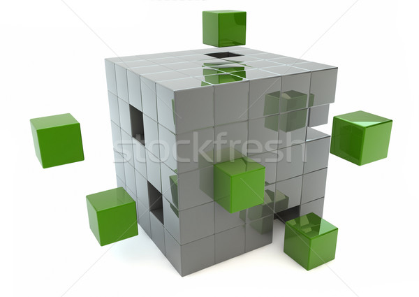 Matrix render Stock photo © georgejmclittle