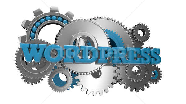 Stock photo: wordpress