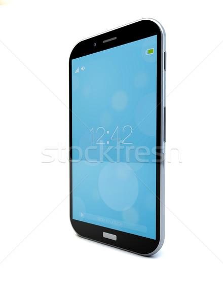 locked smartphone Stock photo © georgejmclittle