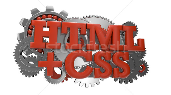 html and css Stock photo © georgejmclittle