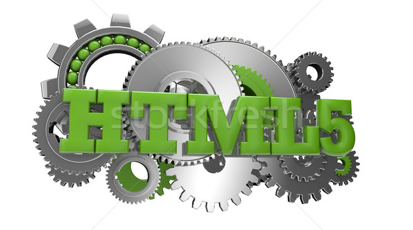 Html engins texte affaires internet Photo stock © georgejmclittle
