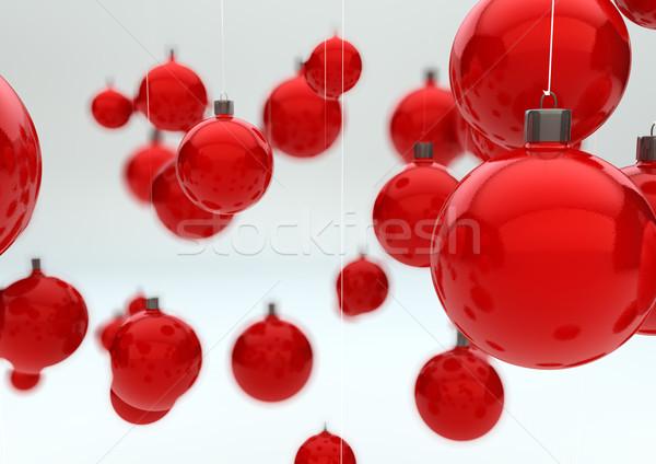 Noël groupe anniversaire espace Photo stock © georgejmclittle