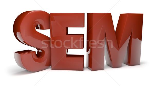 SEM render Stock photo © georgejmclittle