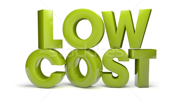 low cost Stock photo © georgejmclittle