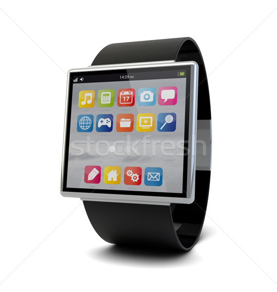 smart watch Stock photo © georgejmclittle