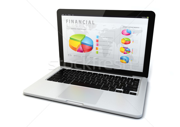 financial concept Stock photo © georgejmclittle