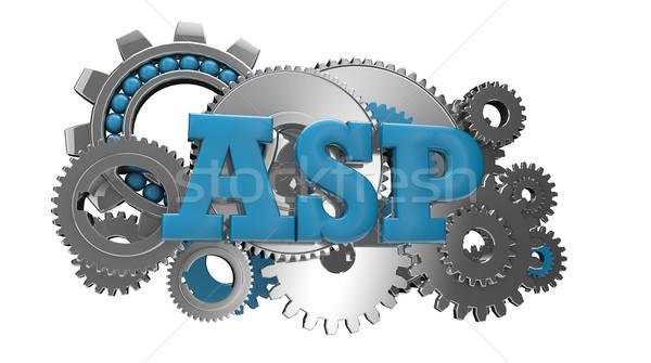 asp code Stock photo © georgejmclittle