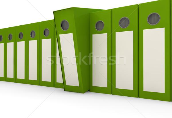 Groupe magasin anneau données financière Photo stock © georgejmclittle