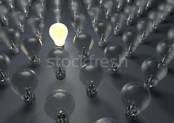 Lightbulb Stock photo © georgejmclittle